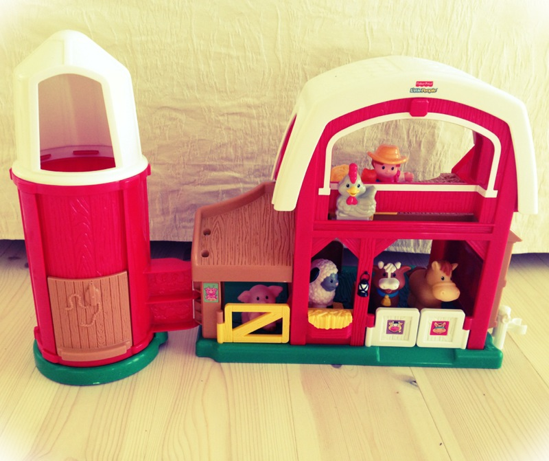 Best Little People Toys : Fisher price little people farm toy mummy in the city