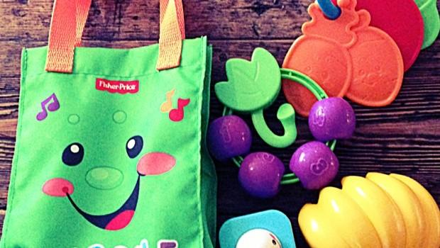 Fisher-Price Sing n' Learn Shopping Bag