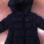 Ralph Lauren Hooded Down Coat Girls