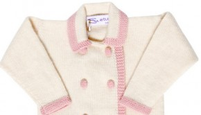Sue Hill Cardigan Pink Cream