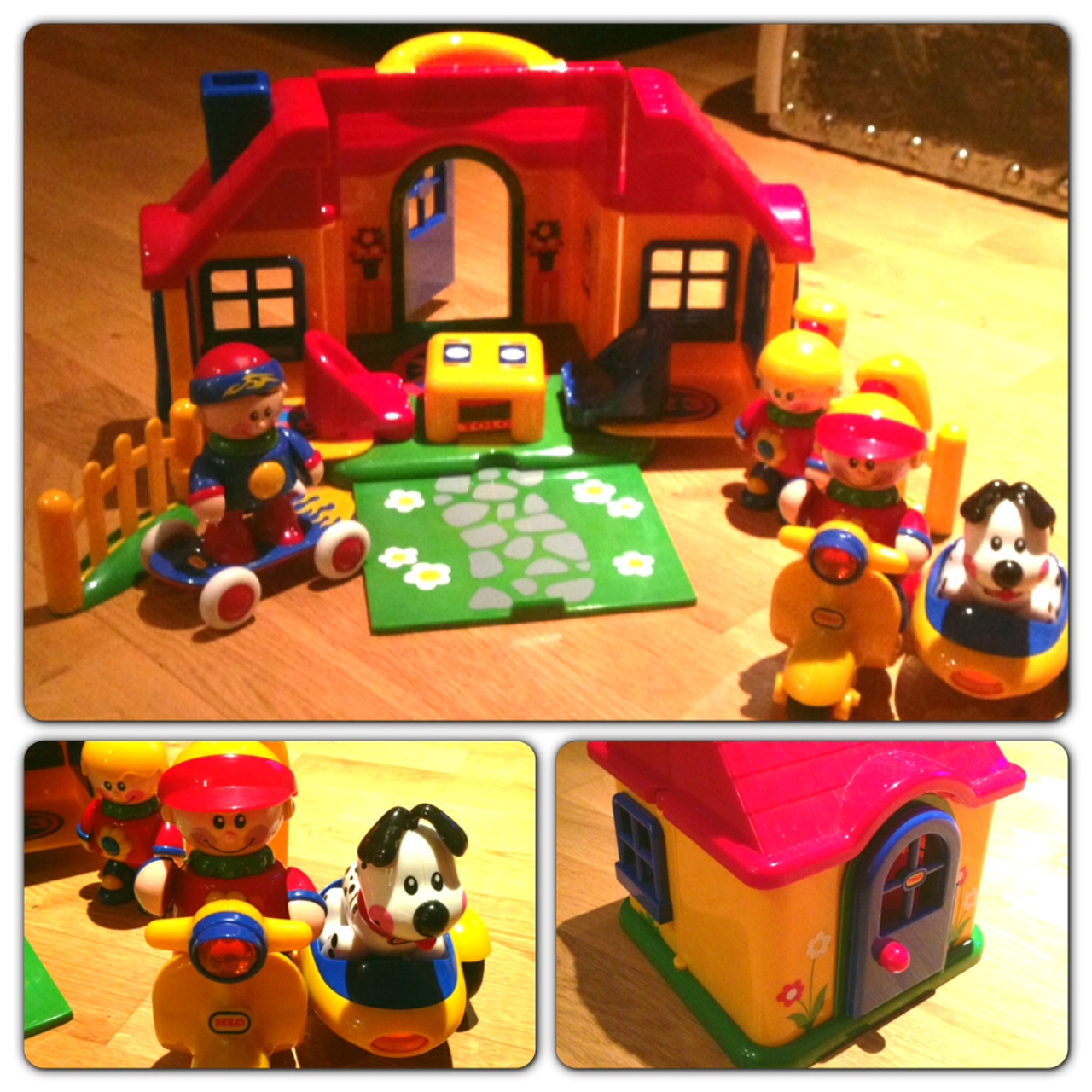 My 14-month old loves her Tolo First Friends house, characters and doggie. Santa might bring her some more things from the Tolo series this Christmas!