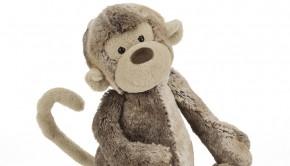 Jellycat Moss Monkey Medium