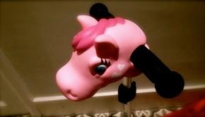 ScootaHeadz Pink Pony