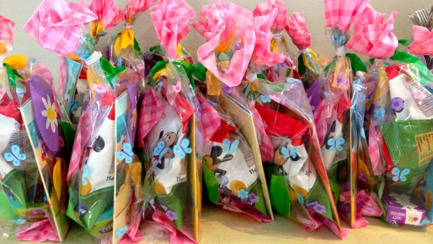 Growing Up Party Bags
