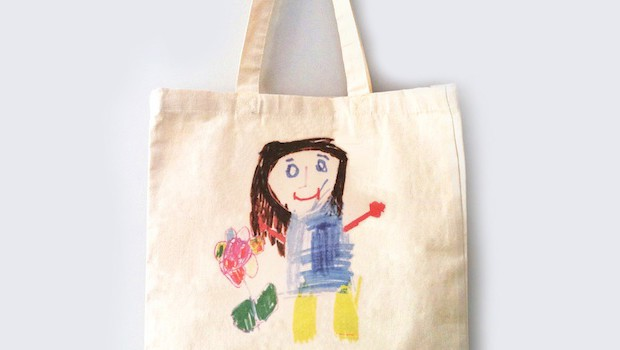 Creating Personalised Christmas Presents From Childrens Drawings