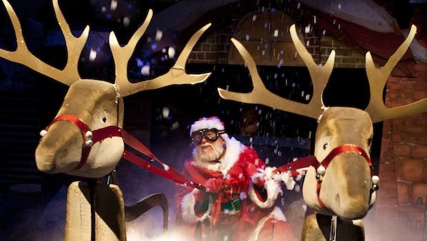 Raymond Briggs' Father Christmas - photo by Simon Annand-2