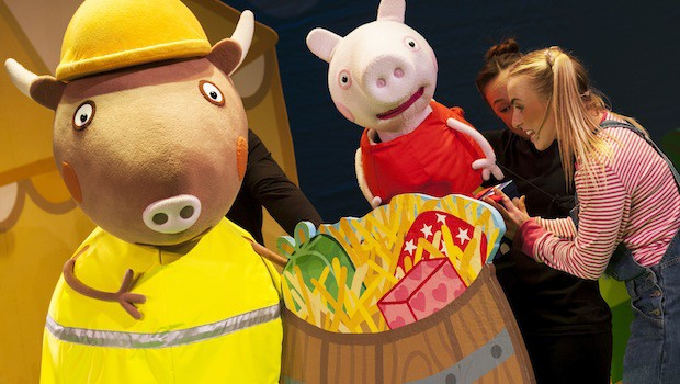 Review Peppa Pig S Big Splash For A Festive Family Day Out In West