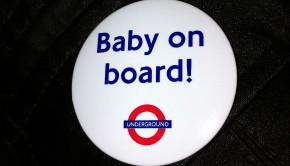 Baby on Board Badge London