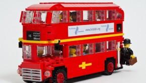 London routemaster Lego exhibition 2015