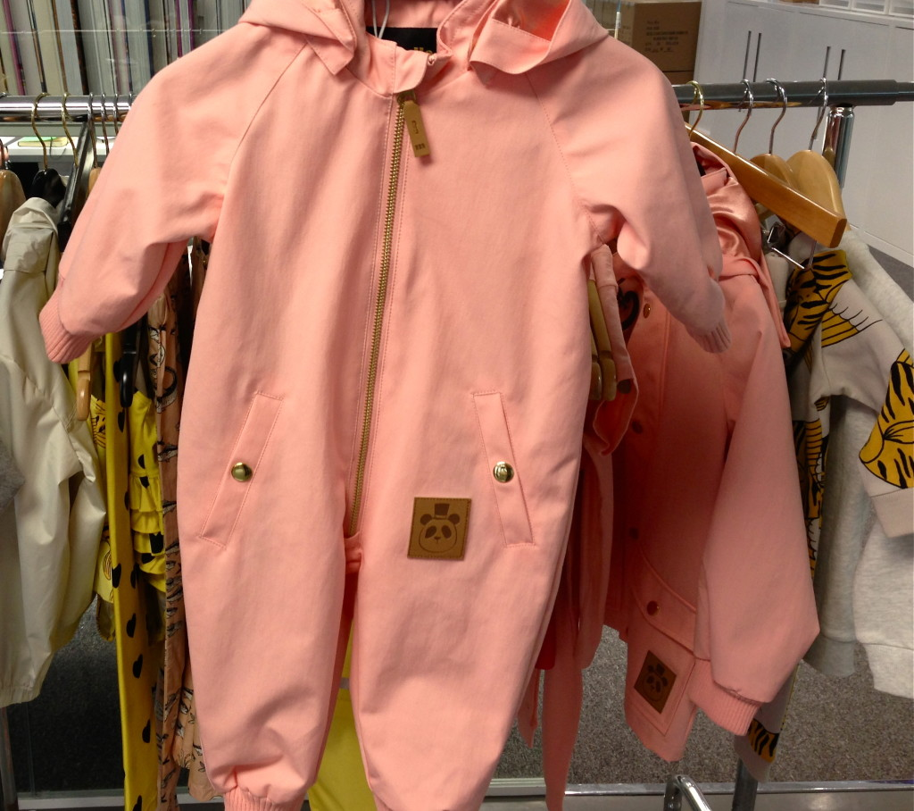 Mini Rodini Pink Onesie