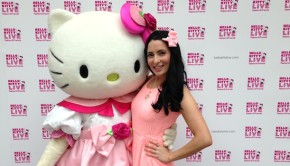 Hello Kitty with Sophie Westfield London
