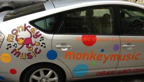 Monkey Music Toddler Class London