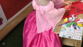 Princess dress toddler pink