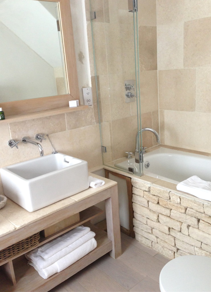 A family weekend at the wild rabbit in the cotswolds for Wild bathrooms