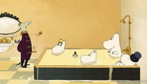 Moomins on the Riviera Bath Tub
