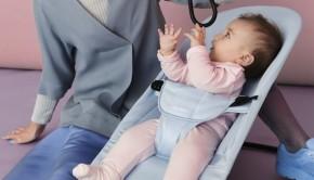 BabyBjorn Bouncer Balance Soft - Blue Mint, Cotton