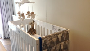 Jolie Petite Chose Blanket Bloom Cot