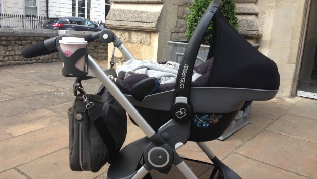 Stokke Scoot with Maxi Cosi Pebble