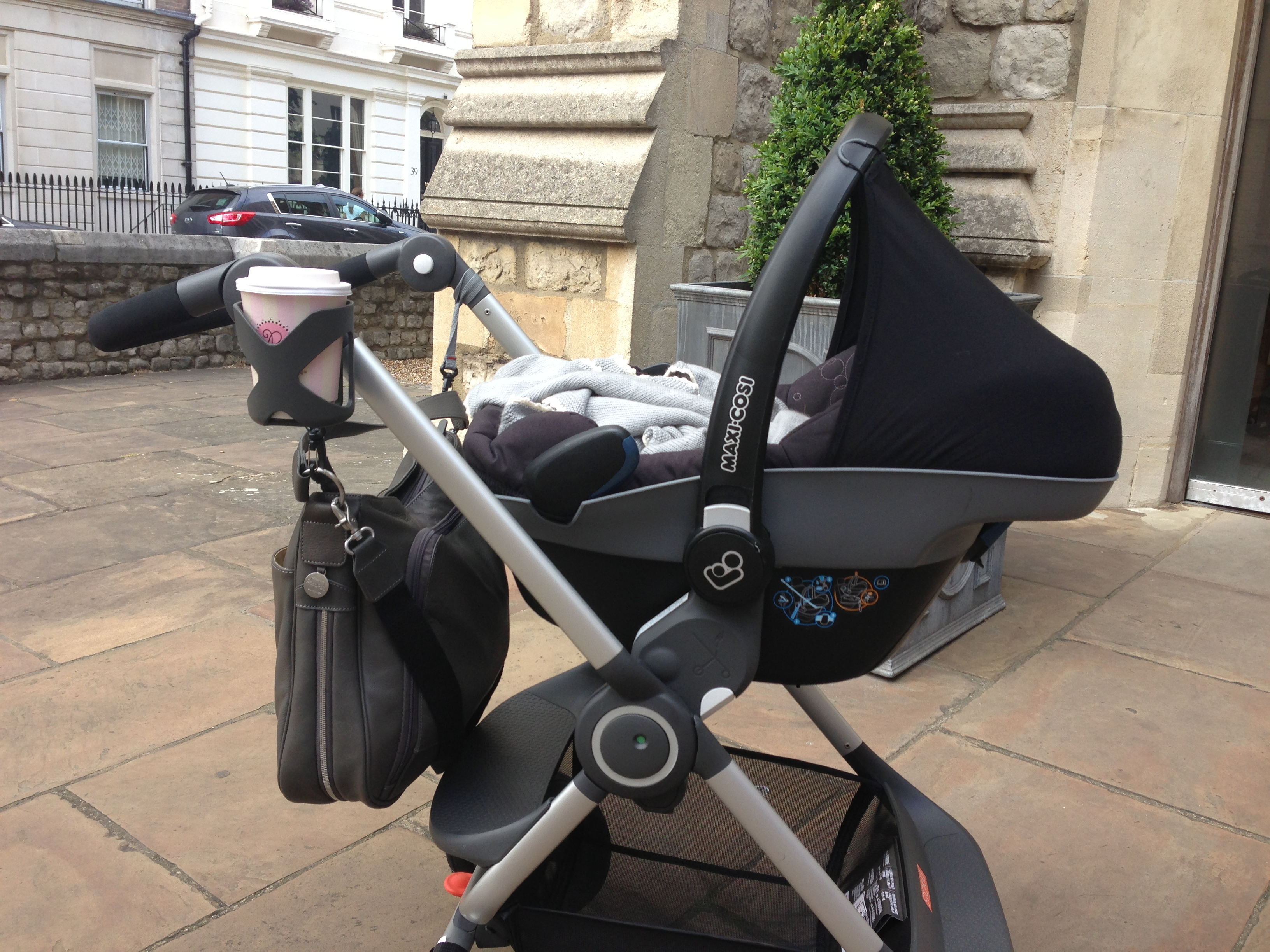 Wonderlijk Stokke Scoot with Maxi Cosi Pebble - Mummy in the City SY-59