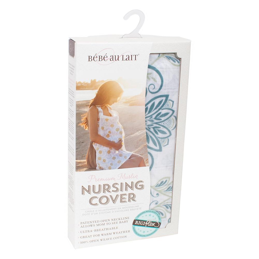 Bebe Au Lait Premium Muslin Nursing Cover