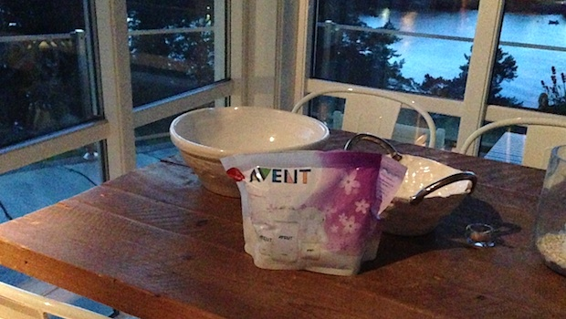 avent microwave steriliser instructions how much water