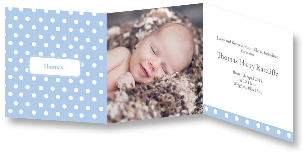 Finding stylish birth announcement cards Mummy in the City – Birth Announcement Card
