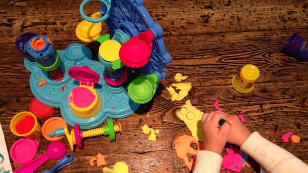 celebrating international play doh day with play doh cupcake