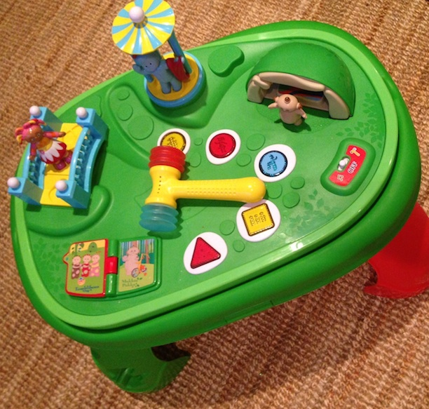 In The Night Garden Activity Table Product