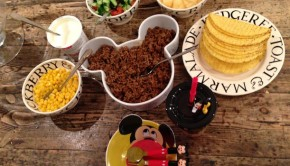 Mickey Inspired Taco Meal