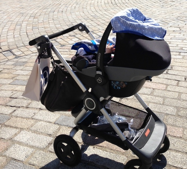 Svært Why Stokke Scoot v2 works for London life with baby - Mummy in the FL-15