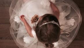 Le Mu Fancy Floral Gold Dress Tiara