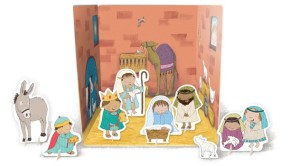 Nativity scene Pop Out Book