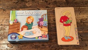 New Baby Lotto Mother Puzzle