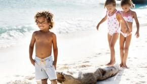 Newport beach & Pheobe Heidi Klein Childrens Beachwear