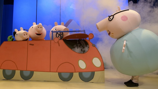 Peppa Pig's Big Surprise Car Trouble