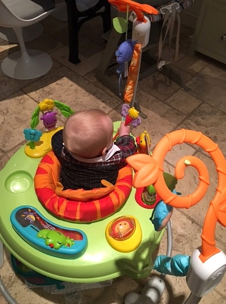 9b7b5060e721 Review  Fisher-Price Roarin Rainforest Jumperoo for keeping baby ...