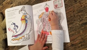 Chinese Patterns to Colour book