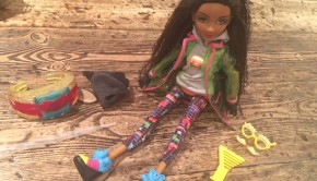 Bryden Bandweth Project Mc2 doll with bracelet experiment
