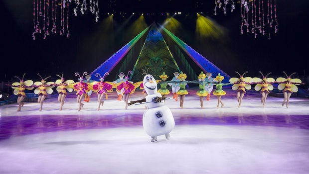 Olaf Frozen Disney on Ice