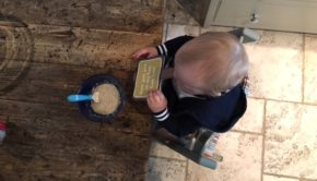 Baby porridge Ellas Kitchen