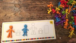 Family Counters Activity Cards Maths