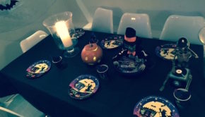 halloween-table-pumpkin
