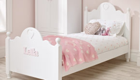 Ollie and Leila personalised children's bed