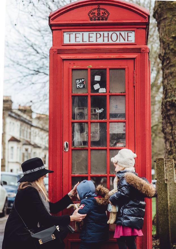 Bear ad Pine Tekla Telephone Kiosk Tine