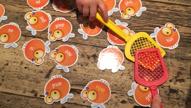 Sight Word Swat Learning Resources Game