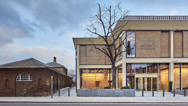 Renovated National Army Museum, London. By BDP architects.
