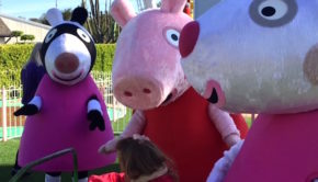 Zoe Zebra Peppa Pig Suzy Sheep