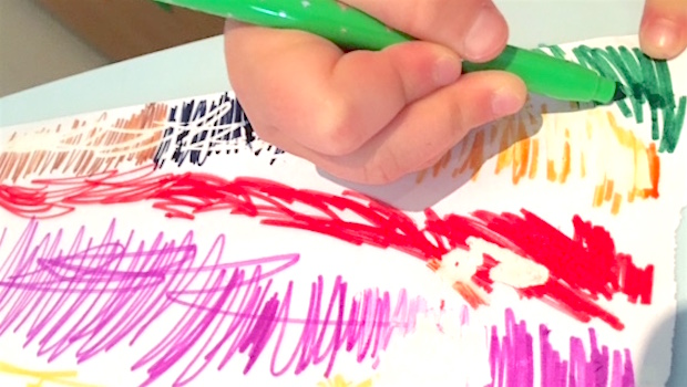 Colouring drawing art BIC Kids