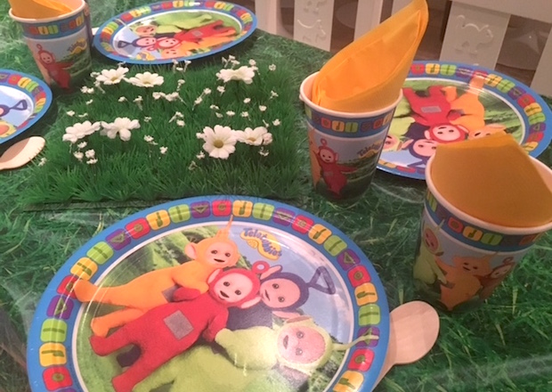 Planning A Teletubbies Birthday Party For Toddler Mummy In The City