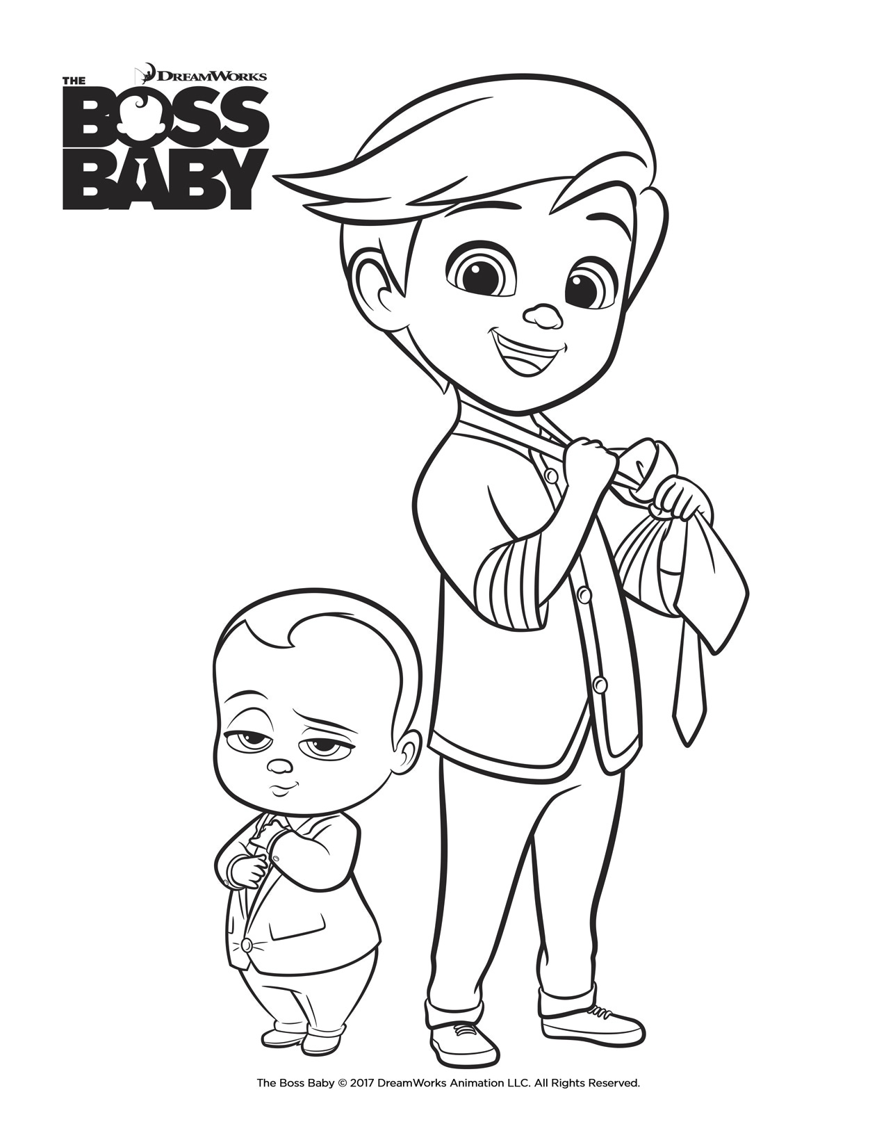Boss-Baby-Coloring-Brothers